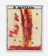 O Contador by Bruno Dunley contemporary artwork works on paper, drawing