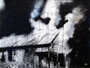 Carr Fire, CA. 2018 by Monica Bonvicini contemporary artwork