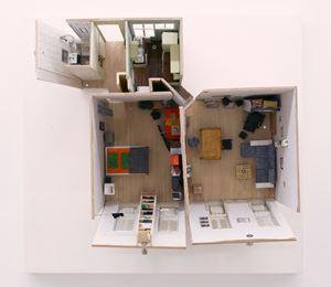 Wohnung Gfrornergasse (kurz vor dem Auszug) by Linus Riepler contemporary artwork