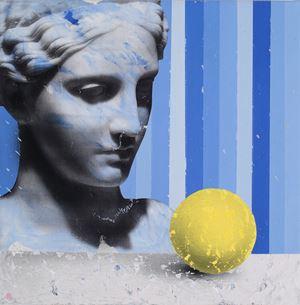 Still Life with Lemon by Mircea Suciu contemporary artwork