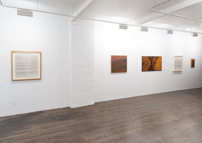 Exhibition view, Abraham Palatnik, solo exhibition, Galeria Nara Roesler, New York. Photo: Adam Reich © Galeria Nara Roesler.
