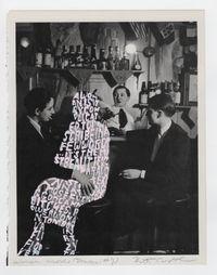 Women Words (Brassaï #2) by Betty Tompkins contemporary artwork painting