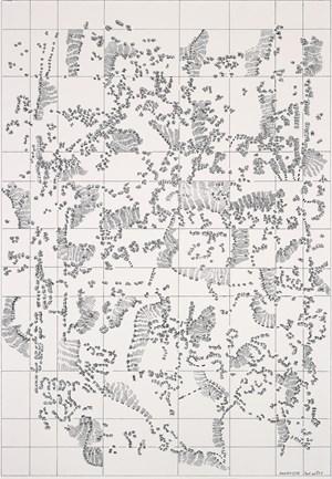 Partitur No. 24c by Dieter Appelt contemporary artwork