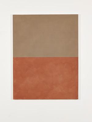 Ochre with Dull Orange by Peter Joseph contemporary artwork