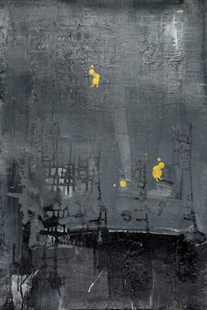 Golden Human with Gray World #5 by Yi Kai contemporary artwork