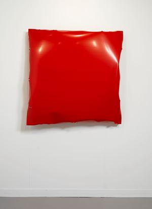 Battered IV (Red) by Angela De La Cruz contemporary artwork