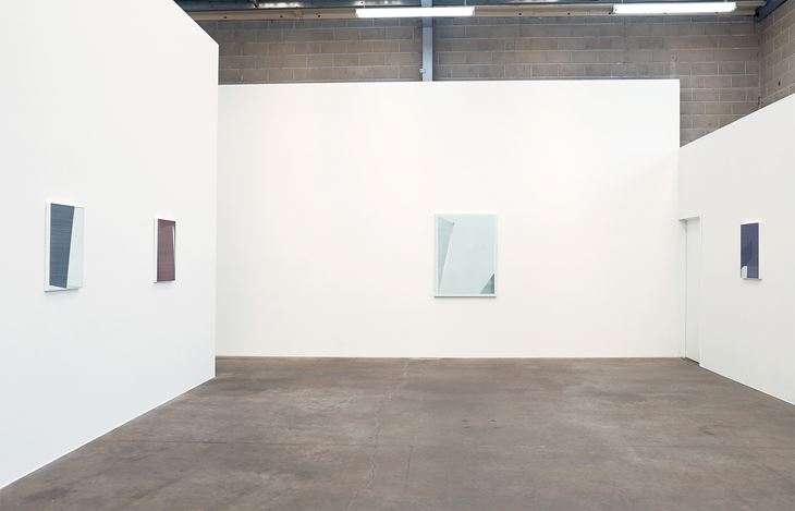Exhibition view: Kristy Gorman, The Ground Aslant, Jonathan Smart Gallery (15 March–13 April 2019). Courtesy Jonathan Smart Gallery.