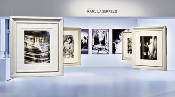 Contemporary art exhibition, Karl Lagerfeld, 30 Years of Photography at Galerie Gmurzynska, Zurich