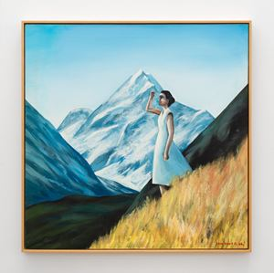 Mt. Cook View by Ian Scott contemporary artwork