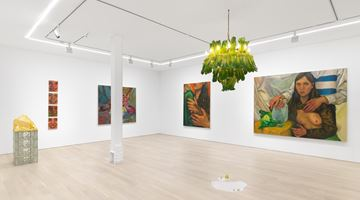 Contemporary art exhibition, Chloe Wise, Thank You For The Nice Fire at Almine Rech, New York
