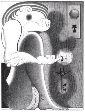 Oedipus to Hamlet by Cindy Ji Hye Kim contemporary artwork