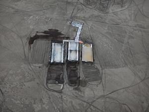 Salt Pans #3, Little Rann of Kutch, Gujarat, India by Edward Burtynsky contemporary artwork