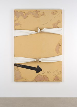 Nuats (Knotted) by Antoni Tàpies contemporary artwork