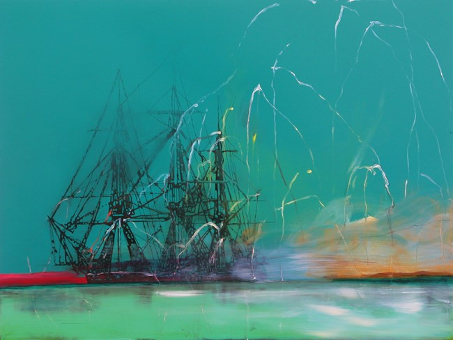 Untitled shipwreck (rocked) by Whitney Bedford contemporary artwork
