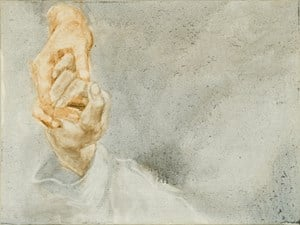 A Study about Painting Hands 002 by Zhou Zixi contemporary artwork