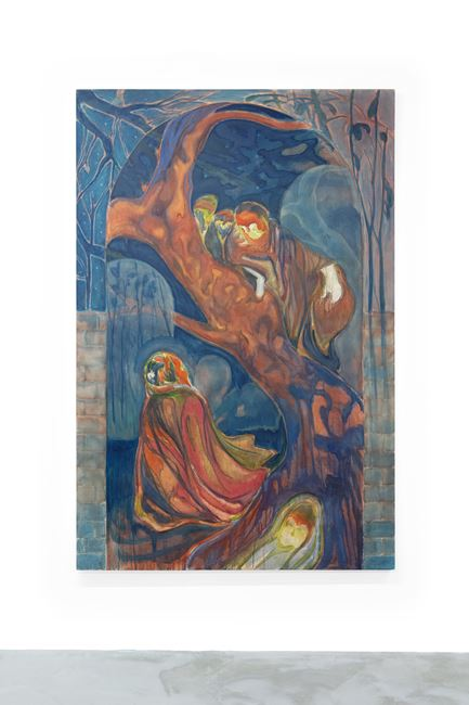 Annunciation by Henry Shum contemporary artwork