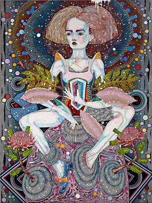 Openly song by Del Kathryn Barton contemporary artwork