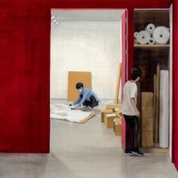 Packing by Jina Park contemporary artwork painting, works on paper