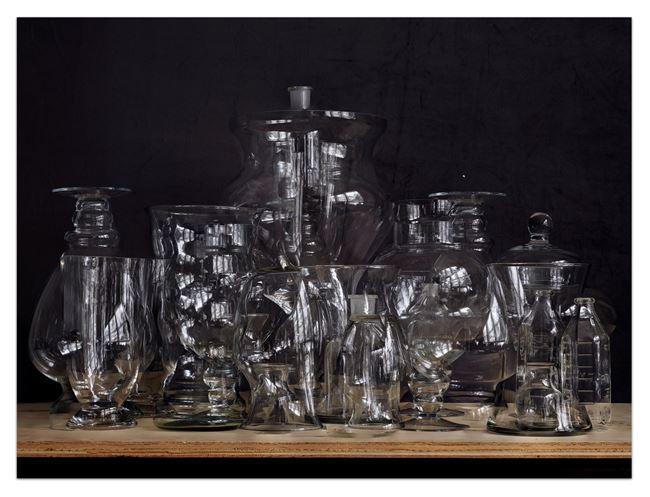 Glassware Still Life #1 by Abelardo Morell contemporary artwork
