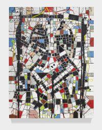 Untitled Broken Men by Rashid Johnson contemporary artwork mixed media