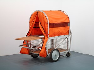 Homeless Vehicle, Variant 5 by Krzysztof Wodiczko contemporary artwork