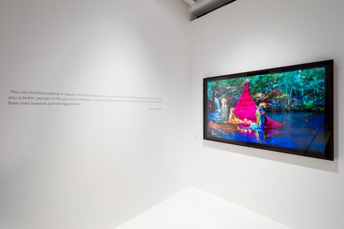 Exhibition views: David LaChapelle, SCAPEs, Pearl Lam Galleries, Dempsey Hill, Singapore (22 December 2017-25 February 2018). Copyright of David LaChapelle. Courtesy the artist and Pearl Lam Galleries.