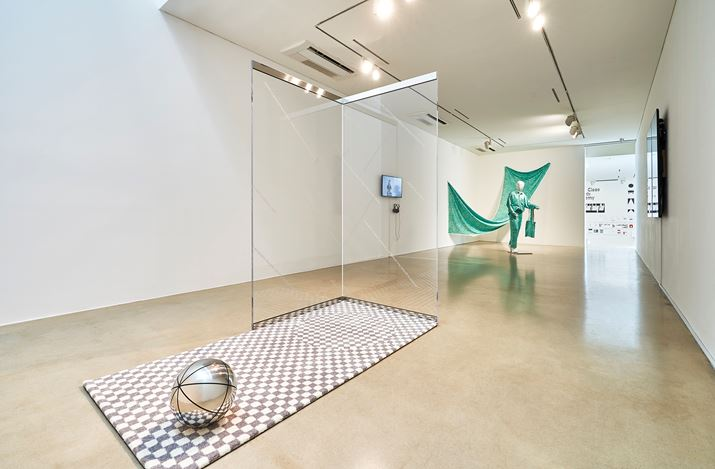Exhibition view: Shim Woo Yoon, Peony and Crab (Open Recent Graphic Design 2019), ONE AND J. Gallery, Seoul (8–25 August 2019). CourtesyONE AND J. Gallery.