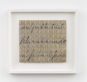Bits of History - the 6th Amendment by Betty Tompkins contemporary artwork