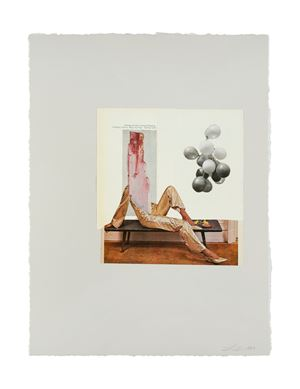 California by Lorna Simpson contemporary artwork