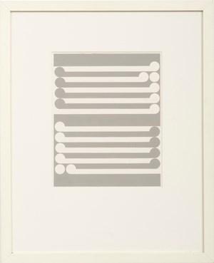 Study for No.2/Tirangi by Gordon Walters contemporary artwork