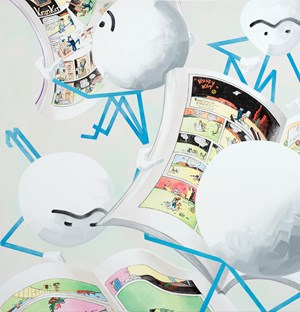 KWEE MOKKS by Marcus Weber contemporary artwork