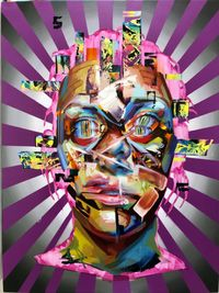 Mesmerized II by Justin Bower contemporary artwork painting