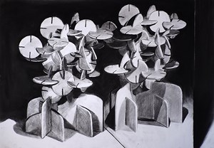 Parallax by Douglas Stichbury contemporary artwork