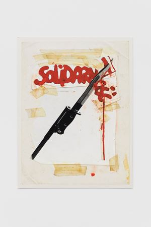 Solidarność by Peter Kennard contemporary artwork
