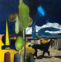 Left behind by Rodel Tapaya contemporary artwork painting