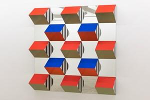 Work III by Daniel Buren contemporary artwork