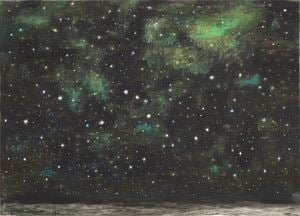 Con le stelle by Natale Addamiano contemporary artwork