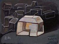 Song Zhuang 2017 No.14 宋庄2017年第十四号 by Wang Chuan contemporary artwork painting