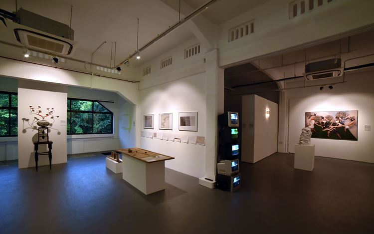 Exhibition view: Group Exhibition, Singapore Utopia, Chan + Hori Contemporary, Singapore (27 July–1 September 2019). Courtesy the artists and Chan + Hori Contemporary.