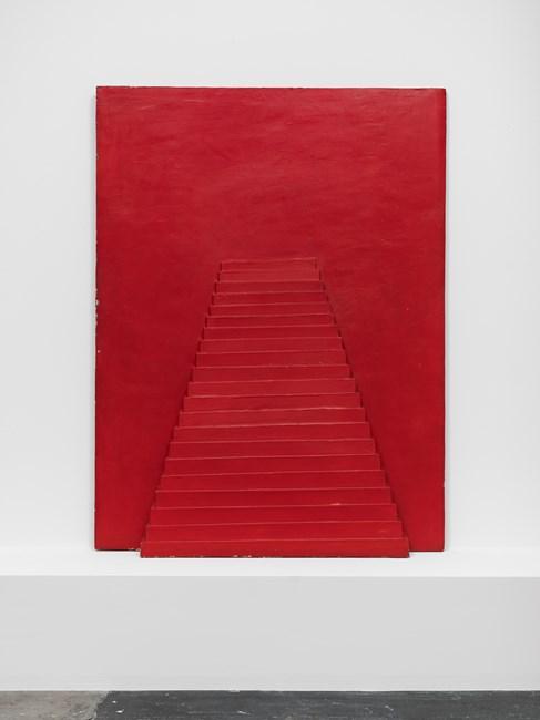 Pyramide rouge by Horia Damian contemporary artwork