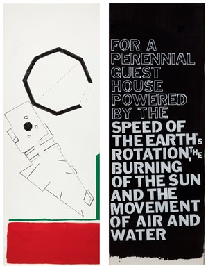 GENT. 1986-PRESENT/ LA JOLLA by Maria Nordman contemporary artwork works on paper
