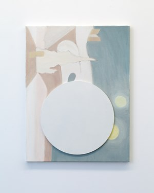 White Circle/Landscape (Melbourne) by John Nixon contemporary artwork