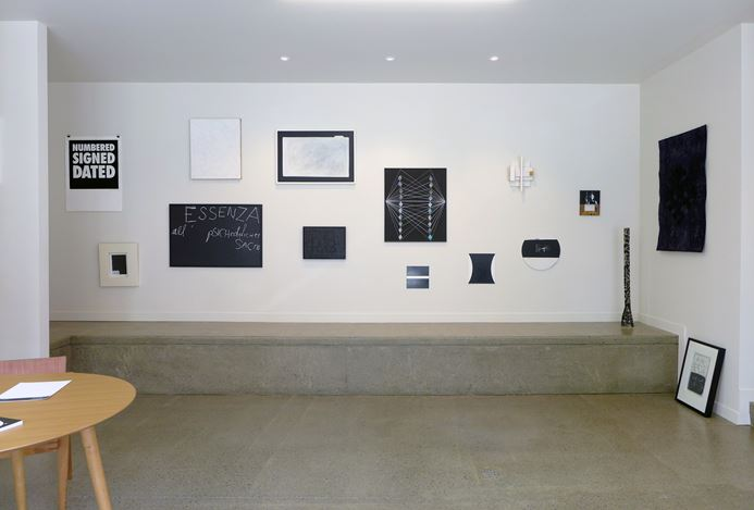 Exhibition view: Black White, Hamish McKay Gallery, Wellington (14 December 2019–25 January 2020). Courtesy Hamish McKay.