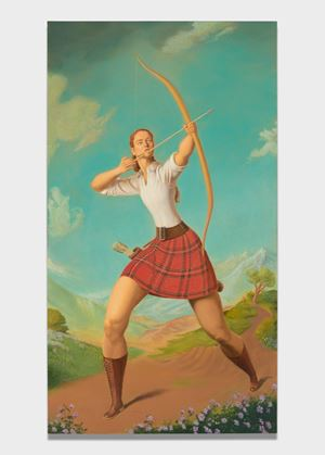 Archer by Jansson Stegner contemporary artwork