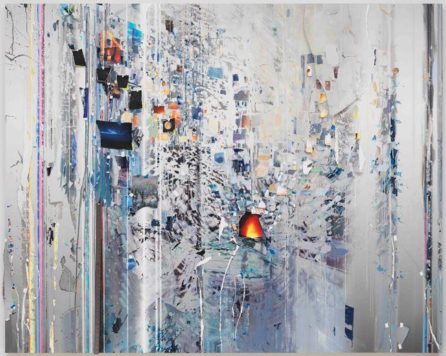 First Time (Half-life) by Sarah Sze contemporary artwork