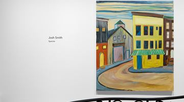 Contemporary art exhibition, Josh Smith, Spectre at David Zwirner, 69th Street, New York
