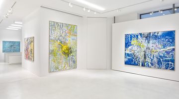 Contemporary art exhibition, Jim Thorell, Tropics of beach naps at SETAREH, Düsseldorf, Germany