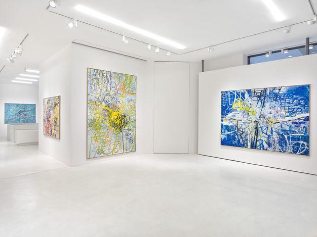 Exhibition view: Jim Thorell, Tropics of beach naps, SETAREH, Düsseldorf (3 September–16 October 2021). Courtesy SETAREH.