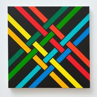 Small Lattice No. 286 by Ian Scott contemporary artwork painting