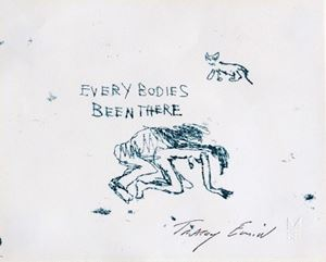 Everybodies Been There by Tracey Emin contemporary artwork